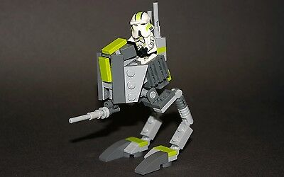 Lego Star Wars Custom 501st AT-RT Republic Clone Walker Instructions Only
