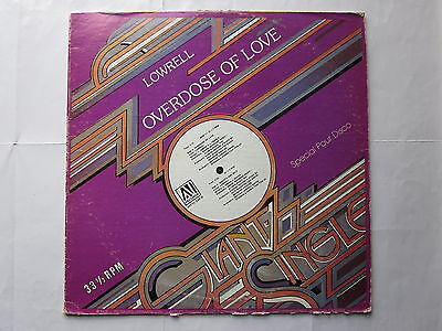 "Soul Modern Boogie Disco 70's 12""-Lowrell-Overdose Of Love/Smooth And Wild-USAVI"