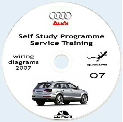 Workshop Manual+Wiring Diagrams,Manuale Officina Audi Q7 2005/2007