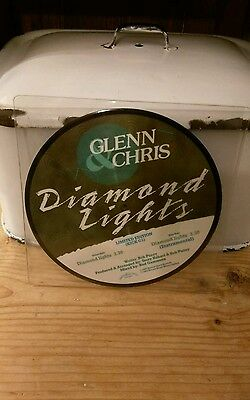 Glen and Chris Diamond Lights 7inch picture single