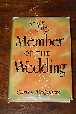 THE MEMBER OF THE WEDDING by Carson McCullers, 1st edition, 1st printing