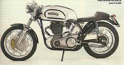Rare UNITY EQUIPE TRITON MANX BSA GOLD STAR PROFILE/TEST Featherbed Cafe Racer