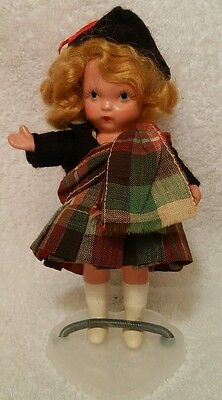 """Vintage Nancy Ann Storybook #38 """"Scotch"""" from the Around the World"""" Series"""