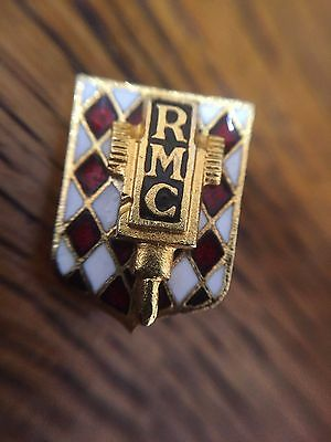 RARE vintage Drago RMC Rallye Monte Carlo Pin Badge (Rally, automobile)