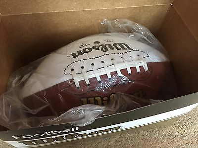 Genuine Wilson Official Blank Autograph NFL American Football Europe League New