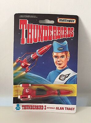 Matchbox Thunderbirds 'Thunderbird 3', Alan Tracy, 1992 Vintage Toy