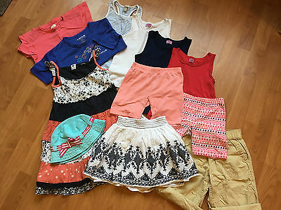 Girls bundle of summer clothes, age 5-7 years (12 items)