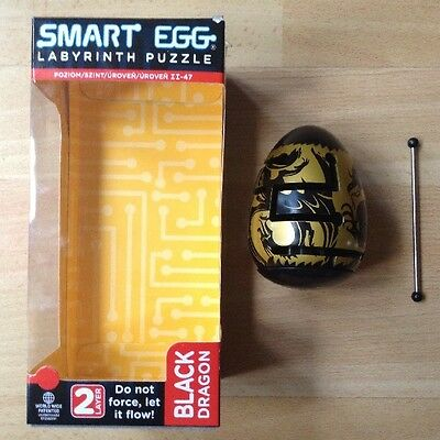 Smart Egg Black Dragon 2 Layer Labyrinth Puzzle Level II-47