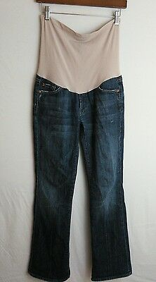 7 Seven For All Mankind Pea in a Pod Maternity Stretch Bootcut Jeans Size 28X30
