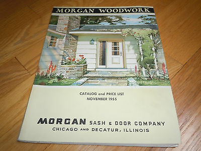 1955 Morgan Woodwork Catalog - Sash / Doors / Mantels / Moulding / Stairs