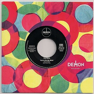 "60s MOD 7"" 45 THE BIRDS - YOU'RE ON MY MIND / FLEUR DE LYS - CIRCLES - REISSUE"