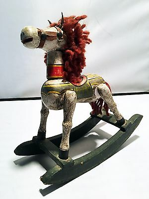 Authentic Grimm TV Prop Christmas Rocking Horse Decor ~ Monroe Christmas???