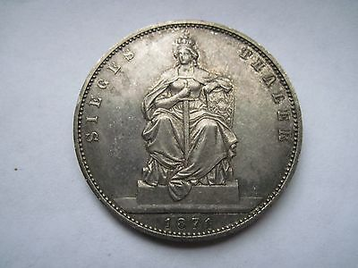 German States Prussia Thaler, 1871-A, Victory over France