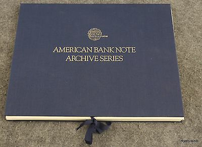 1989 American Bank Note Company Archive Series Complete Volume One