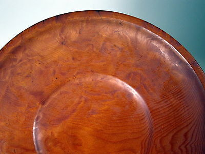 Vintage DOUGLAS FIR handcrafted bowl by CARL W. STUCKI 1985 PACIFIC NORTHWEST
