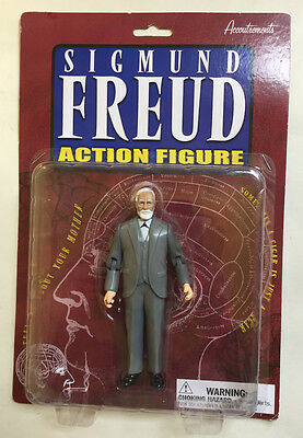 Sigmund Freud Action Figure Accoutrements 2002 Cigar in right hand Arms bend MIP