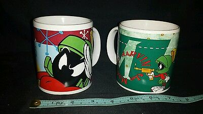 2 Marvin the Martian Coffee Mugs