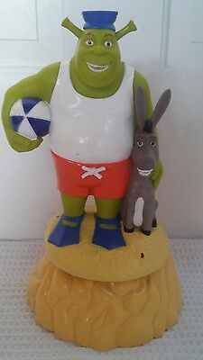 SHREK & Donkey Sprinkler Kids Water Law Toy Pre-owned