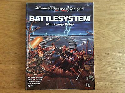 AD&D Battlesystem - 2nd Edition Miniatures Rules