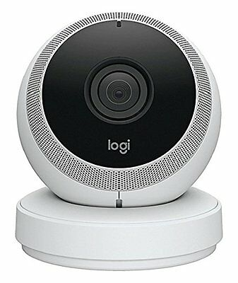Logitech Circle, wireless Security camera (with 1080p-Videoqualität) white 03