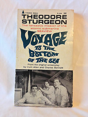 Theodore Sturgeon VOYAGE TO THE BOTTOM OF THE SEA vintage 1967 movie tie in PB