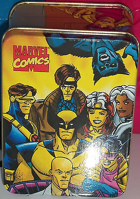 1994 Nabisco Marvel Comics X-Men Limited Edition Playing Trading Card Tin