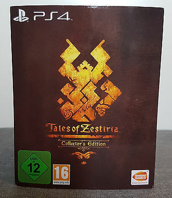 Tales of Zestiria Limited Collector's Edition Playstation 4 PS4
