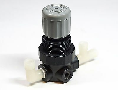 Norgren Relief Valve 10 PSIG V07-100-NNAA with 1/4 Compression Nylon Fittings