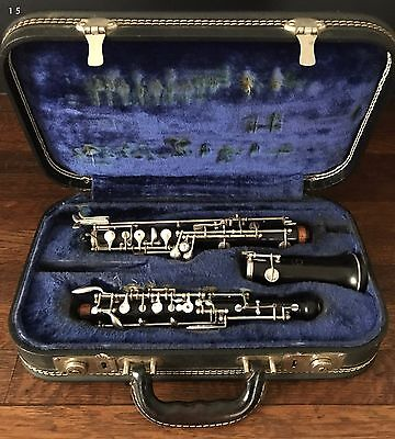 La Marque Wood Oboe, Serial #11221, Needs Repair, With Case, Made in France
