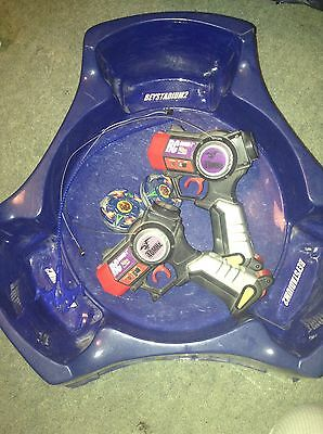 Beyblade Stadium And Remote Control Launchers (X2)