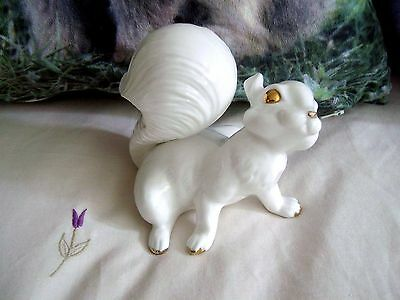 BONE CHINA  Squirrel Figure