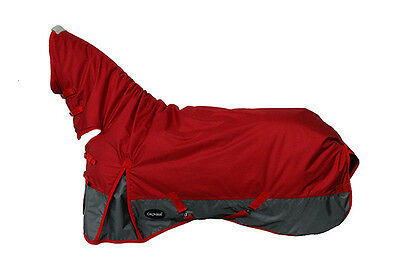 CHONMA 5'9'' 1680D 250G Winter Waterproof BreathableTurnout Horse Rug Combo-A34m