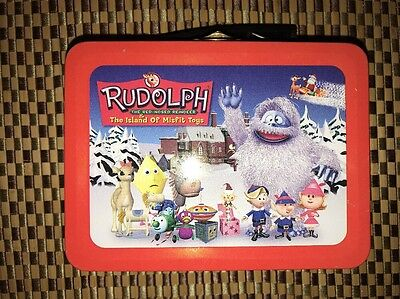 Rudolph and the island of misfit toys Tin mini lunchbox