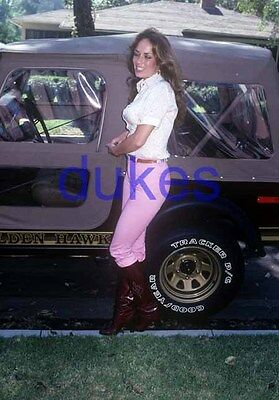 the DUKES OF HAZZARD #853,CATHERINE BACH,candid photo