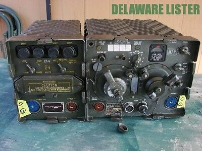 Military Army Radio FM Korean War Transceiver Jeep Vehicle Truck RT-68 & PP-112