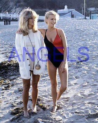CHARLIE'S ANGELS #2568,FARRAH FAWCETT,CHERYL LADD,tv photo