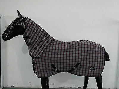 CHONMA   5'3''  New Style Polycotton Monolayer Horse Rug Combo--A05m