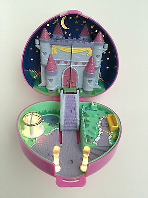 Vintage Polly Pocket 1992 Light Up Starlight Castle Compact