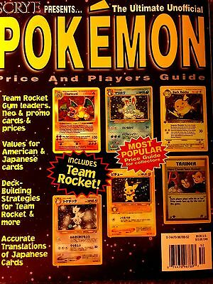 SCYRE Presents Ultimate Unofficial Pokemon Price & Players Guide (Vintage 2000)