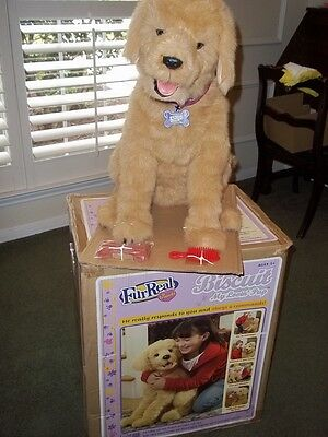 Furreal Biscuit Dog Interactive New In Box! Never Used!