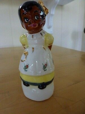 Vintage Mammy figural pie bird (by Carl R. Hrry???)  No 27 of 50