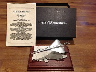 English Miniatures Pewter Concorde Special Edition
