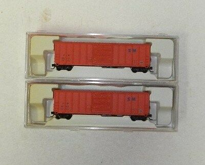 2 x InterMountain N Scale St Marys 51' Boxcars