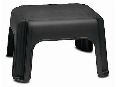 Addis Step Stool Black Home Household Supplies No Slip Feet (Stop Item Moving Ne