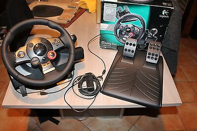 Logitech Driving Force GT Racing Volant ps3 ps2 pc