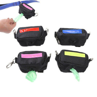 Travel Pet Dispenser Waste Dog Poo Puppy Pick-Up Bags Poop Bag Holder Hook Pouch