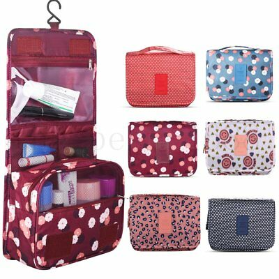 Luxury Lady MakeUp Wash Bags Toiletry Cosmetic Travel Hanging Folding Organizer