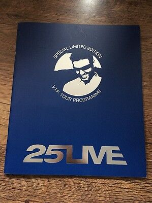 ❣RARE❣VIP SPECIAL LIMITED EDITION PROGRAMME•25Live~George Michael (Wham!)