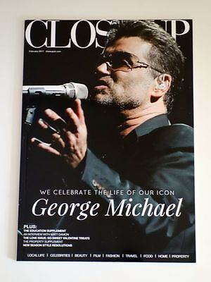 George Michael / Close Up magazine / We celebrate the life of our icon / Tribute