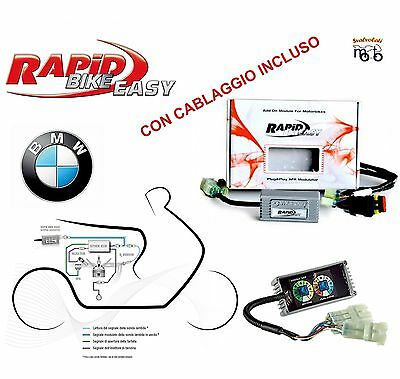 Centralina Moto Rapid Bike Easy Con Cablaggio Specifico Bmw R 1200 S Anno 2008